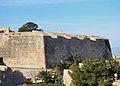 Baluard del Rei del castell de santa Bàrbara, Alacant.JPG