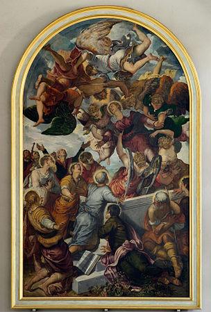 Bamberg Obere Pfarre Tintoretto BW 1.JPG