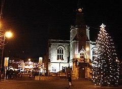Banbury Town Hall (December 2005).