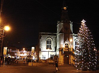 History of Banbury - The Town Hall in December 2005
