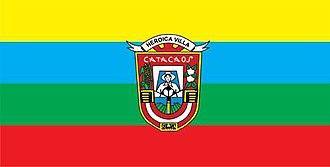Catacaos - Image: Bandera Catacaos