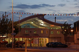 Bangor railway station (Northern Ireland) - Bangor combined railway and bus station was formally opened in 2001.