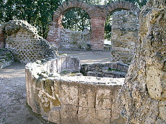 Aglianico - Ruins from the Greek settlement of Cumae.