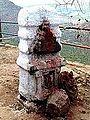 Barabar Caves - Whitewashed Shrine (9227487216).jpg