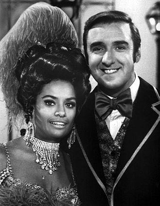 Barbara McNair - McNair with Jim Nabors on his TV variety show, 1970.