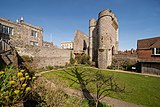 Barbican To Lewes Castle And Walls To South 2018 03.jpg
