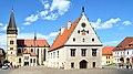 Bardejov basilique Saint-Egide et mairie.jpg