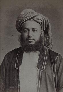 Barghash bin Said of Zanzibar