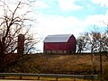 Barn and Silo South of Ridgeway - panoramio.jpg