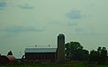 Barn and a Silo South of Watertown - panoramio.jpg