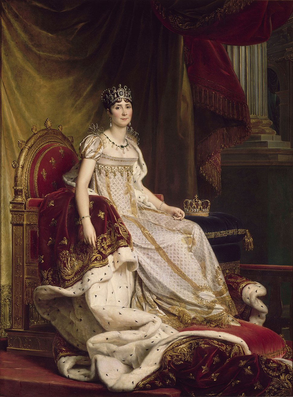 Baron François Gérard - Joséphine in coronation costume - Google Art Project