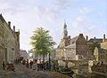 Bartholomeus Johannes van Hove - Gezicht op het Oude Vrouwen- en Kinderhuis aan het Zieken.jpg