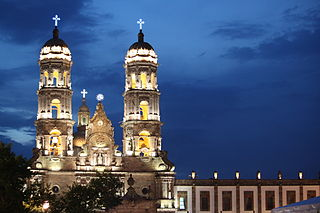 Basilica of Our Lady of Zapopan church building in Zapopan, Mexico