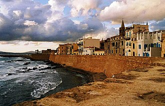 Alghero - 16th century Aragonese Crown city walls