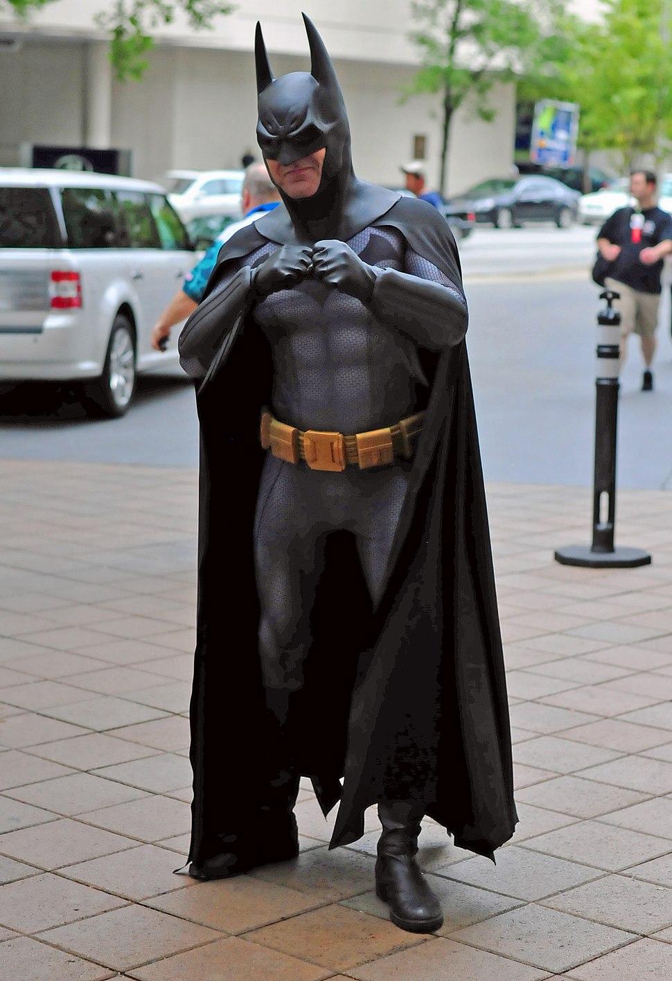 Batman Cosplayer at DragonCon