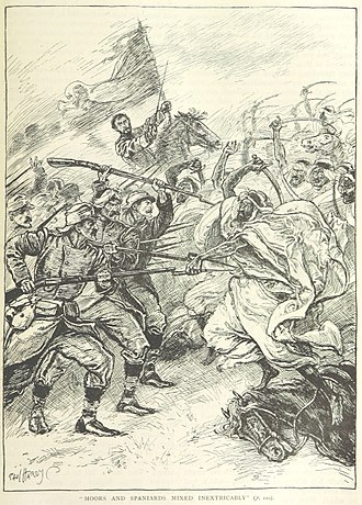 Battle of Castillejos - The Battle of Castillejos (illustration from a British book)