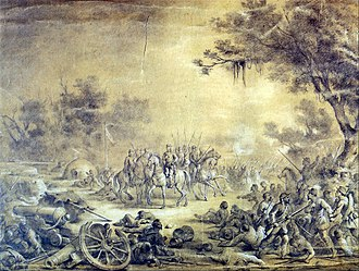 Battle of Curuzú - Image: Battle of Curuzu by Vitor Meireles