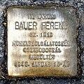 Bauer stolperstein Budapest13.jpg