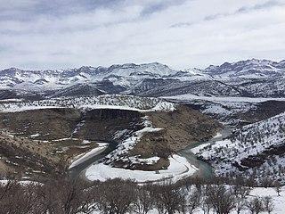 Bazoft District Bakhsh in Chaharmahal and Bakhtiari Province, Iran