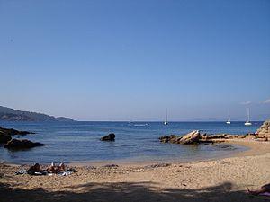 Île du Levant - Beach at Ile du Levant
