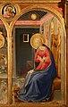 Beato Angelico, Annunciazione di San Giovanni Valdarno, 1432 ca., 04 vergine 1.jpg