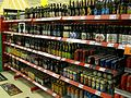 Beer bottles in Finnish market.jpg