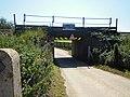 Beeston Regis Restricted Height Railway Bridge.JPG