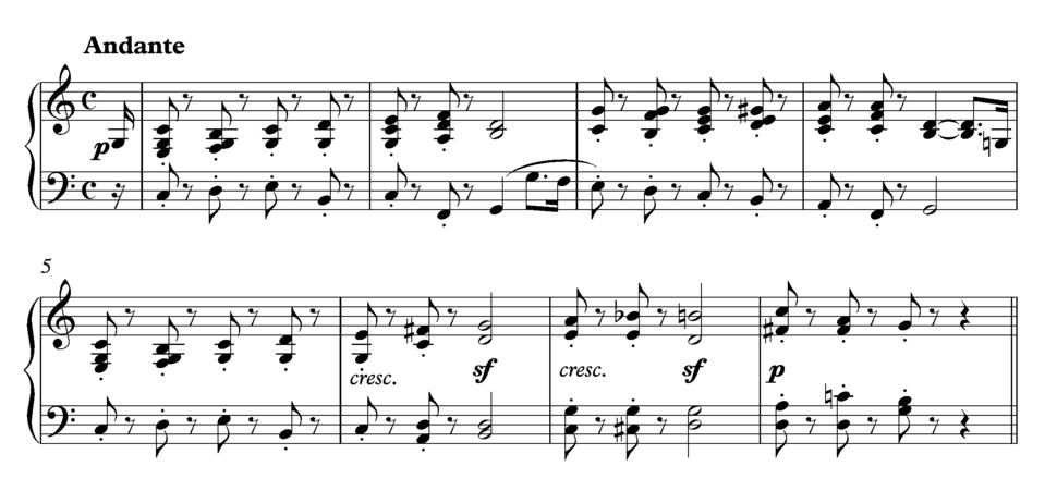 Beethoven Sonata 10 andante