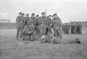 Belgian Commandos in Training in Britain, 1945 D23711