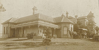 Bellevue, Glebe - Bellevue, Glebe 1899. The large house behind adjoining is Venetia