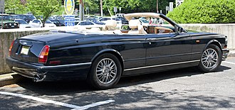 Bentley Azure - Image: Bentley Azure rear view