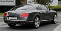 Bentley Continental GT (II) – Heckansicht (2), 30. August 2011, Düsseldorf.jpg