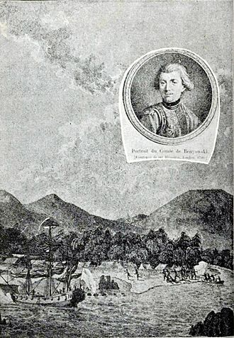 Maurice Benyovszky - An Affair of Retaliation on Formosa - illustration from the Memoirs