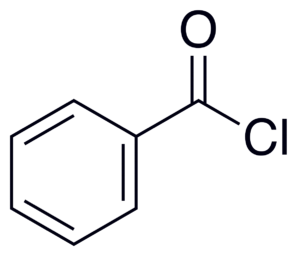 Benzoyl chloride - Image: Benzoyl Chloride