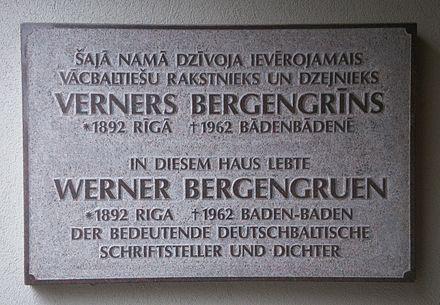 Werner Bergengruen Wikiwand