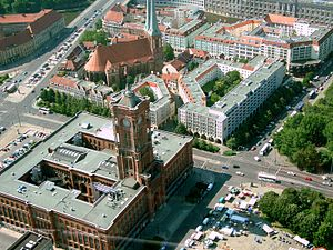 Berlín - Ajuntament i Nikolaikirche