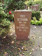Berlin Friedrichsfelde Zentralfriedhof, Pergolenweg - Rettmann + Rentmeister