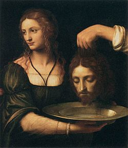 Bernardino Luini - Salome Receiving the Head of St John the Baptist - WGA13771.jpg