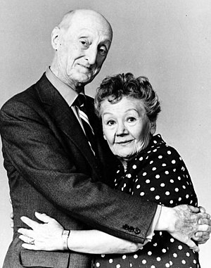 Burt Mustin - Mustin with Queenie Smith from The Funny Side, 1971