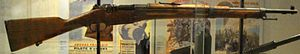 Berthier rifle - M1934 Berthier carbine with a 3-round magazine