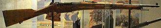 Berthier rifle - M1934 Berthier carbine with a 3-round magazine