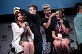 Bethany Mota, Troye Sivan & Kian Lawley with supporter (14349494997).jpg