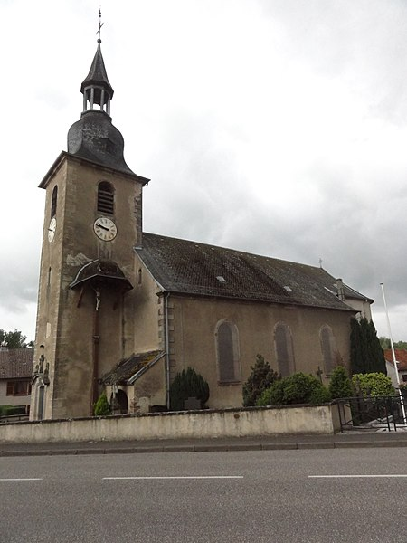Bettborn (Moselle) église
