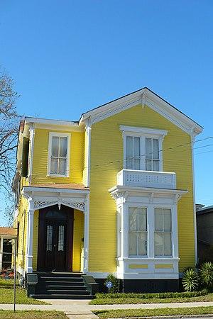 Bettie Hunter House - The Bettie Hunter House in 2008.