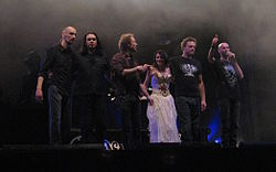 Within Temptation vuonna 2008.