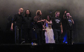 Within Temptation - Within Temptation at the 2008 edition of the Bevrijdingsfestival, in Groningen, Netherlands.