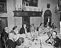 Bezoek Luxemburgs groot-hertogelijk paar. Derde dag. Haarlem (Diner), Bestanddeelnr 907-8121.jpg