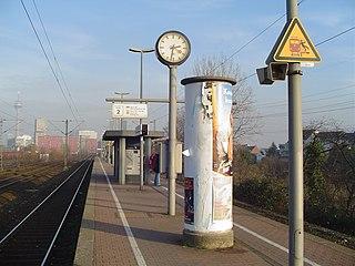 Düsseldorf-Hamm station railway station in Düsseldorf, Germany