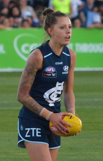 2016 AFL Women's draft - Bianca Jakobsson was selected third by the Carlton Football Club