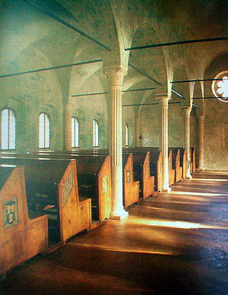 History of libraries - Malatestiana Library of Cesena, the first European civic library